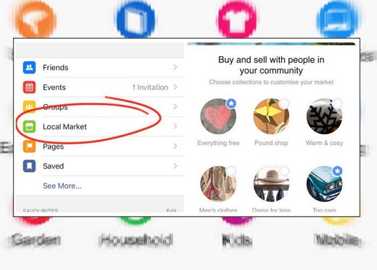 Facebook Testing Local Market Buying And Selling Feature 2