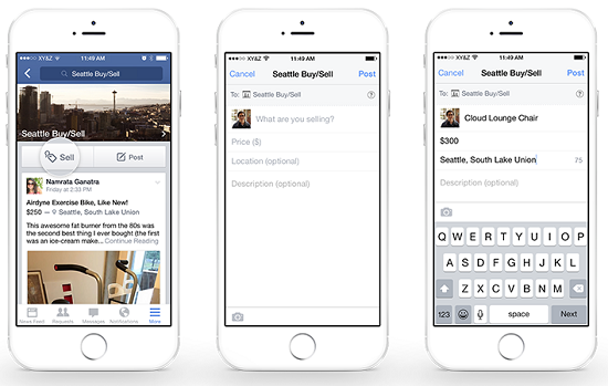 Facebook Testing Local Market Buying And Selling Feature 5