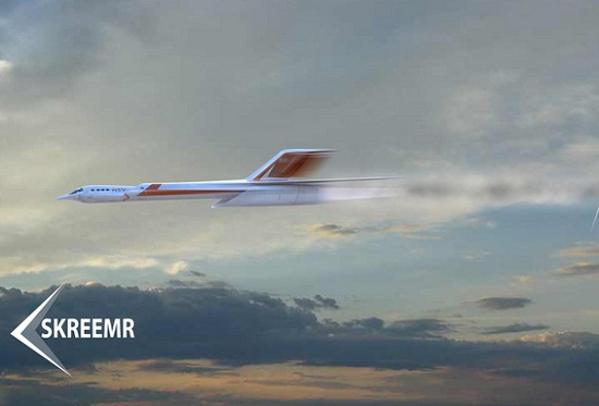Hypersonic Jet Could Fly 10 Times the Speed of Sound 6