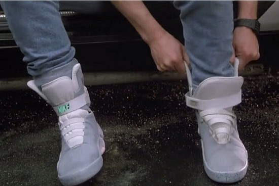 Nikes power laced Back to the Future shoes arrive in 2016 2