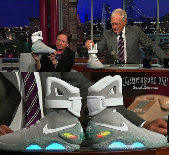 Nikes power laced Back to the Future shoes arrive in 2016 3