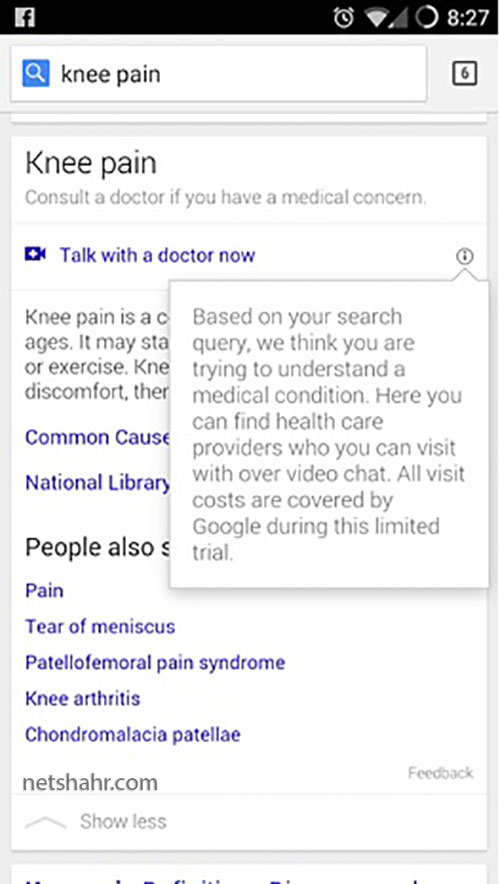 Google-Search-Trial-Allows-You-To-Virtually-Visit-A-Doctor-2