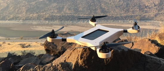 Phone Drone on rock 2