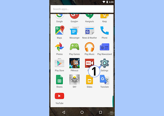 Android 6.0 Marshmallow how to access the built in hidden file manager 2